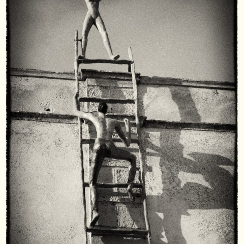 Climbing the Ladder- Greece