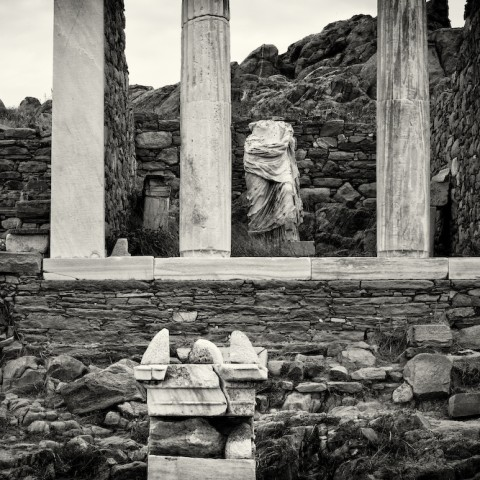 Delos Statue- Greece