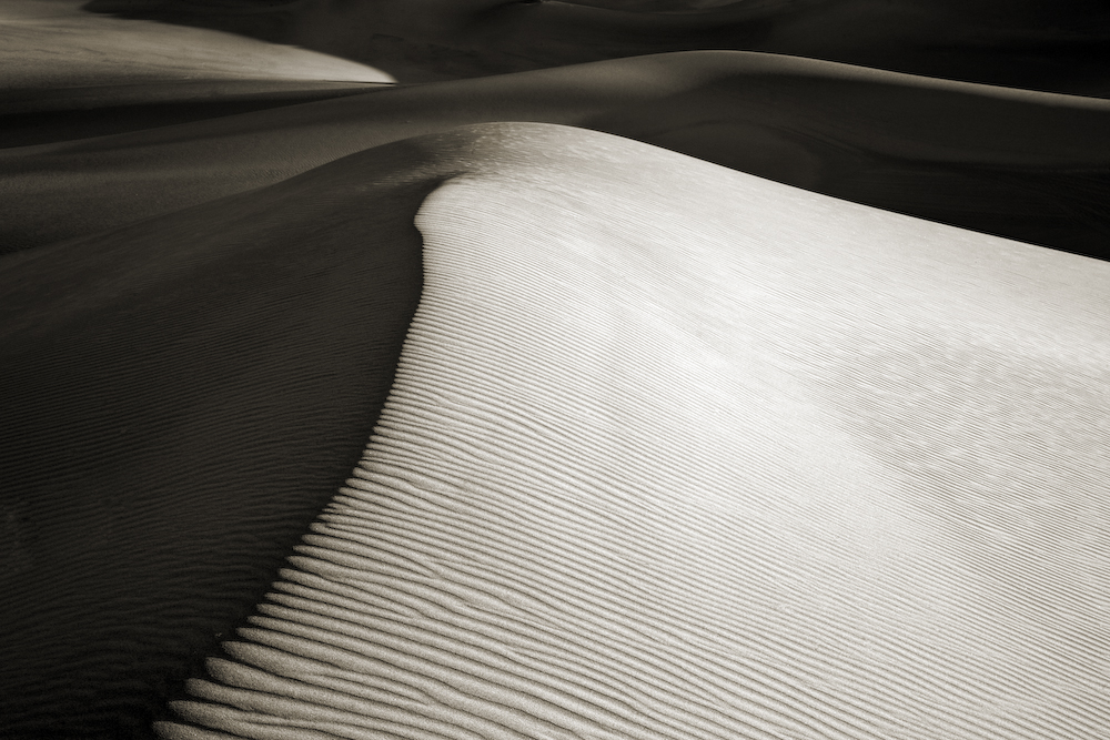 Dune Ridge- Death Valley