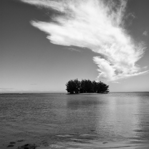Island and Cloud- Moorea