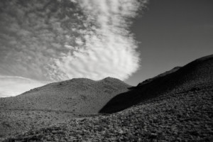 Mountain and Clouds- Death Valley