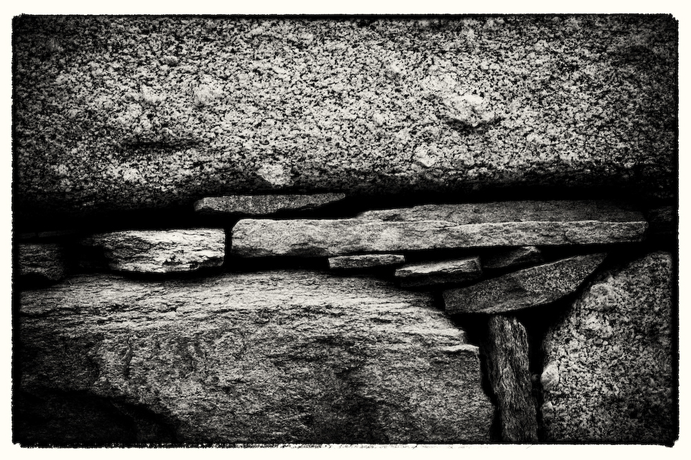 Rock Detail Delos- Greece