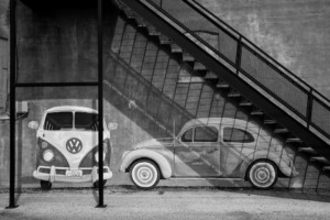 Stairs and VW's