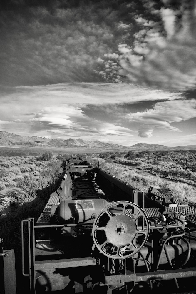 Train Car - Death Valley