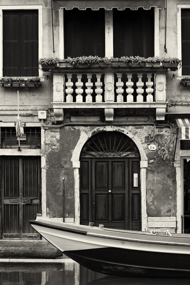 Venice Boat and Front Door