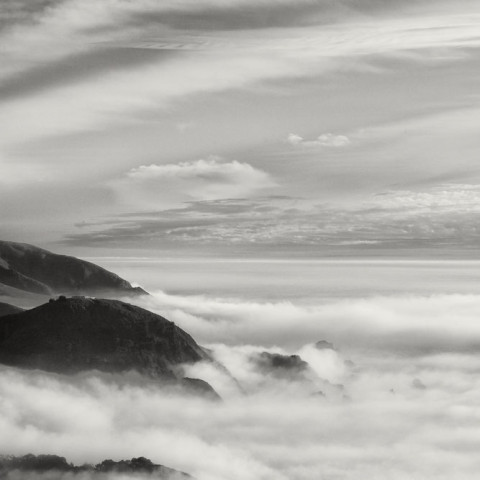 Big Sur Coast with Fog, 2016