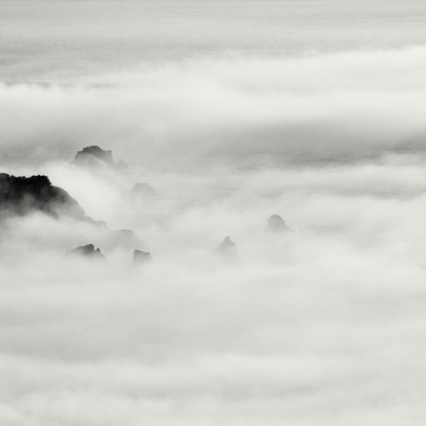 Big Sur Engulfed in Fog, 2016